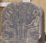 Stela detail with Osiris und Thoth by Sonnenkatze346