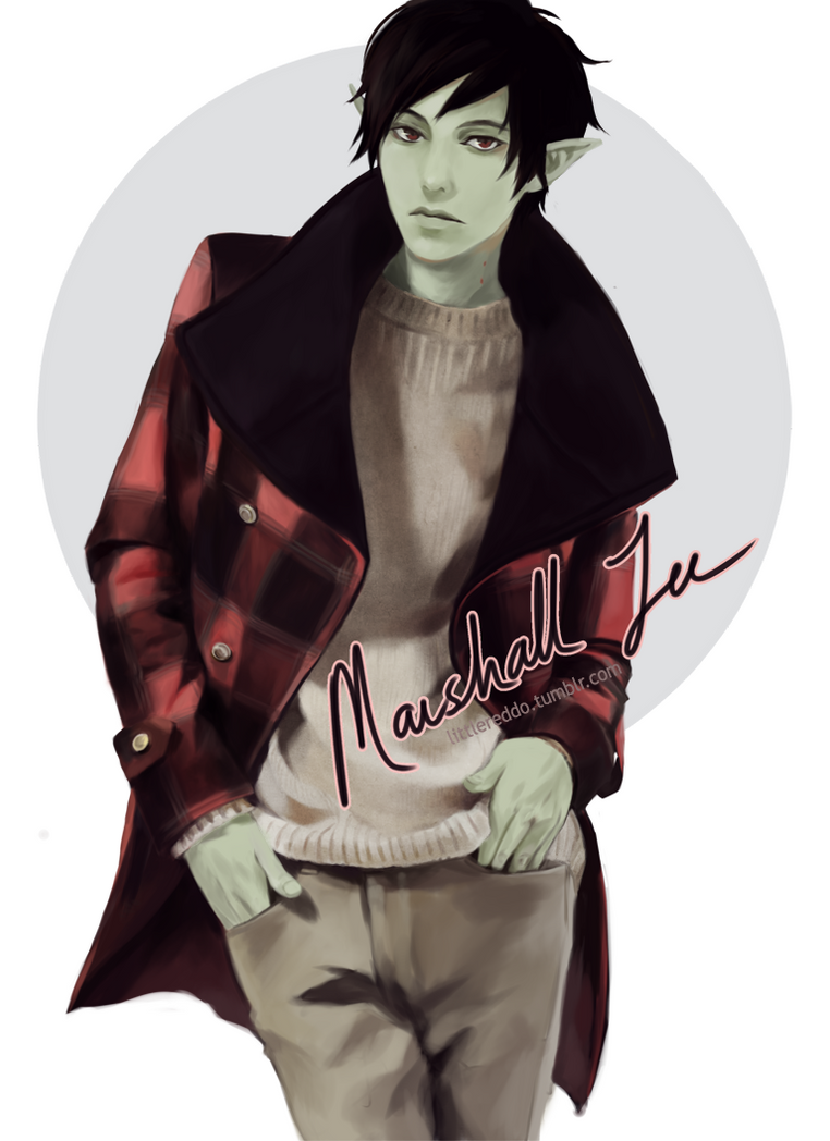 Fashion Time : Marshall Lee by reddii