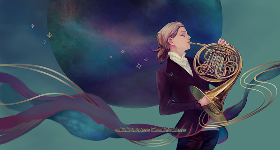 French Horn by reddii
