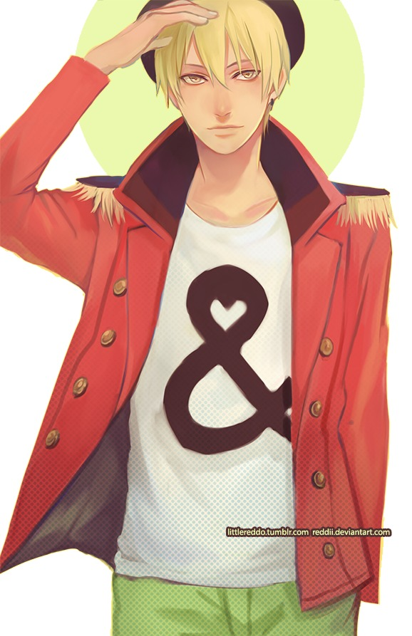 Model-kun by reddii