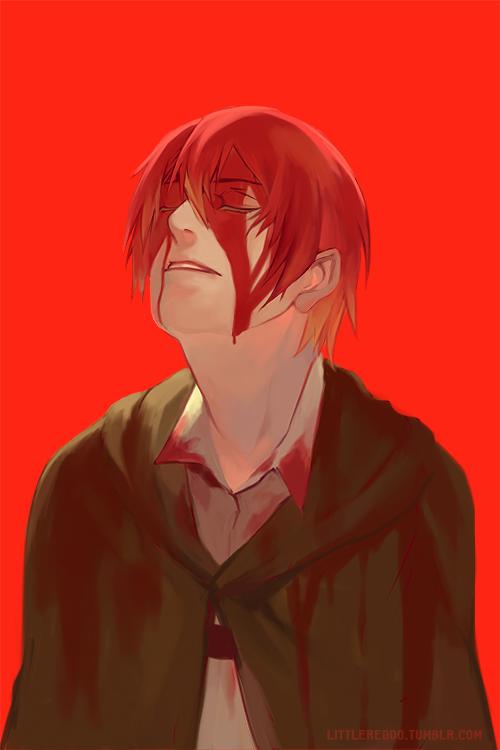 Bloody Armin by reddii