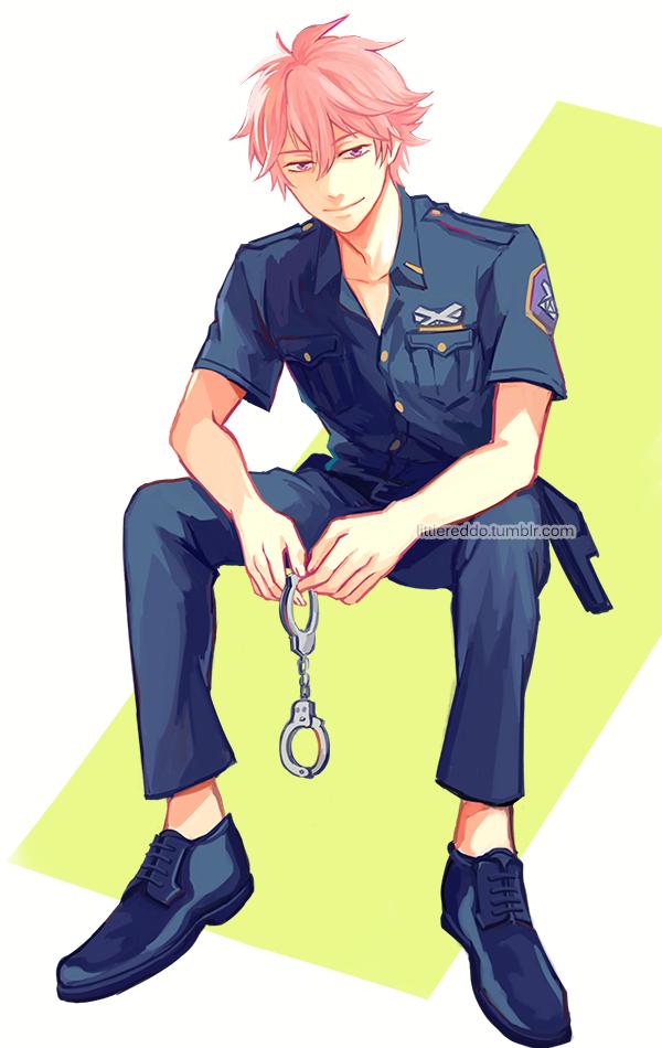 officer kisumi by reddii