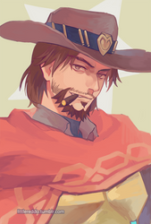 Mccree by reddii