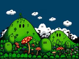 Mushroom kingdom OW: 1 by Rafeal