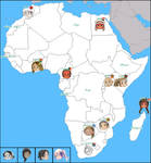 APH: Map of Africa