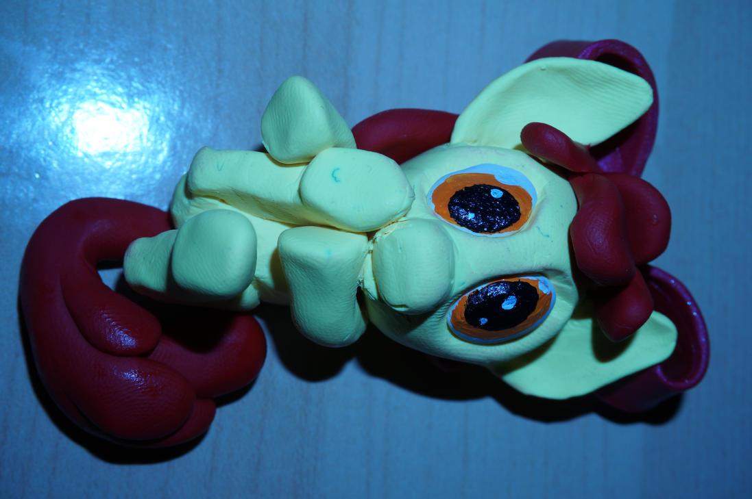 Applebloom Sculpty by bobbilcon