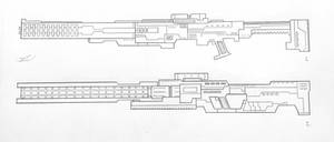 Weapons of the USN: Sniper Rifles 2 (Project A) by AngelOfNope