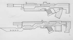 Weapons of the USN: Assault Rifles (Project A)