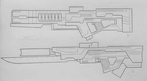Weapons of the USN: Marksman Rifles 2 (Project A)