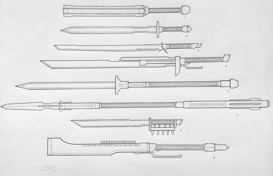 Weapons of the USN: Melee 3 (Project A)
