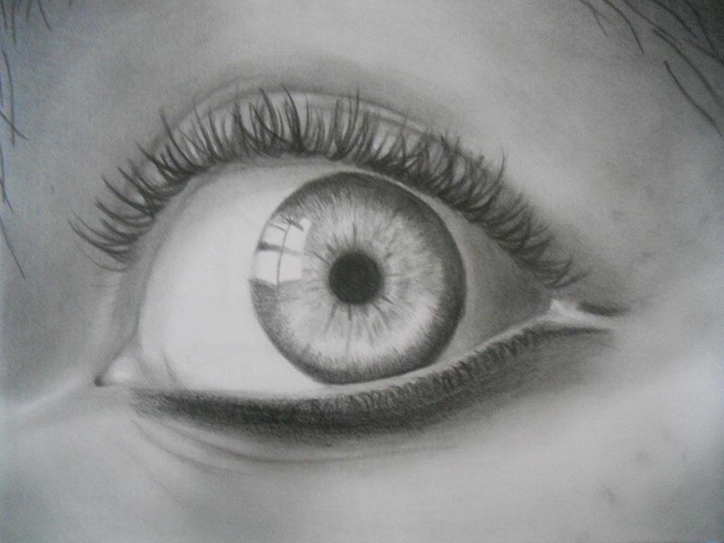 Eye's Study by glowtzy