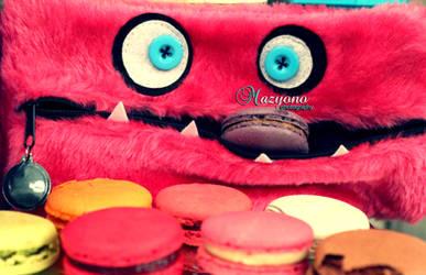 le macaron's monster by mazyono