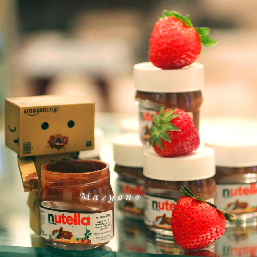 mini nutella by mazyono