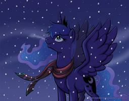 Hearth's Warming Eve Snowfall by RaynesGem