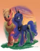 Someone Like You and Me - Mac and Luna by RaynesGem