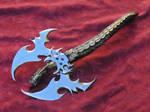 Garnet dragon axe