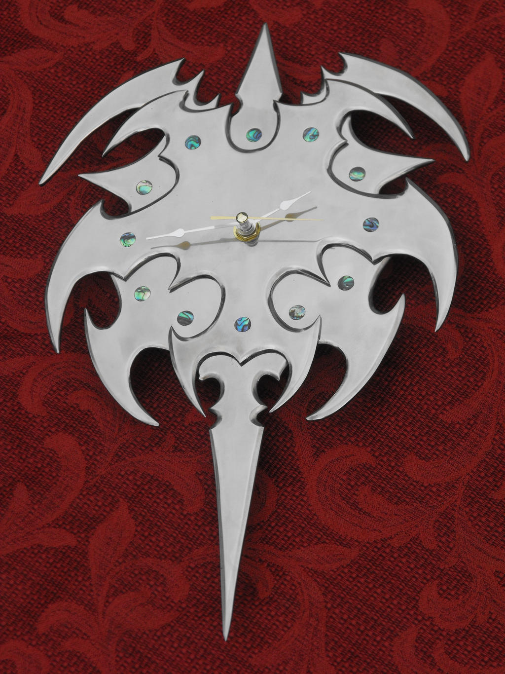 fantasy clock by Licataknives