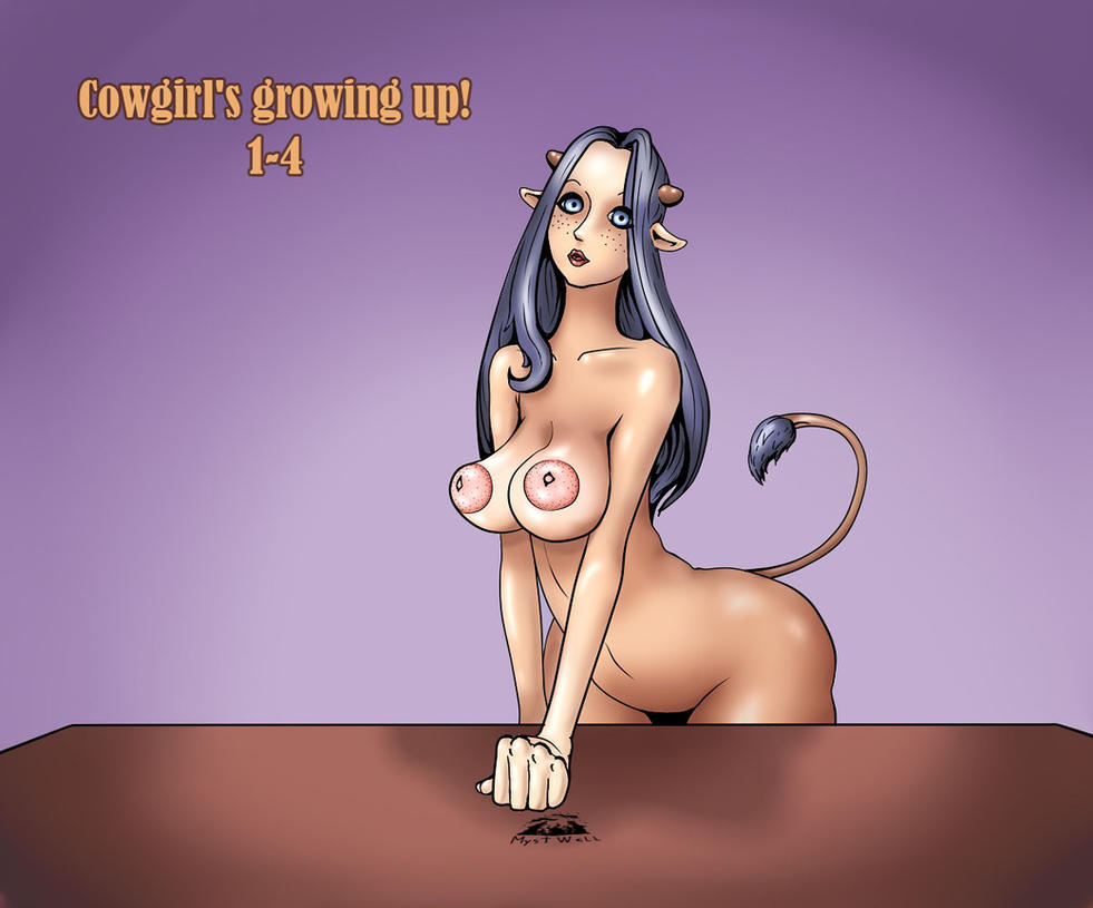 Growing of cowgirl (01-04) by MystWell