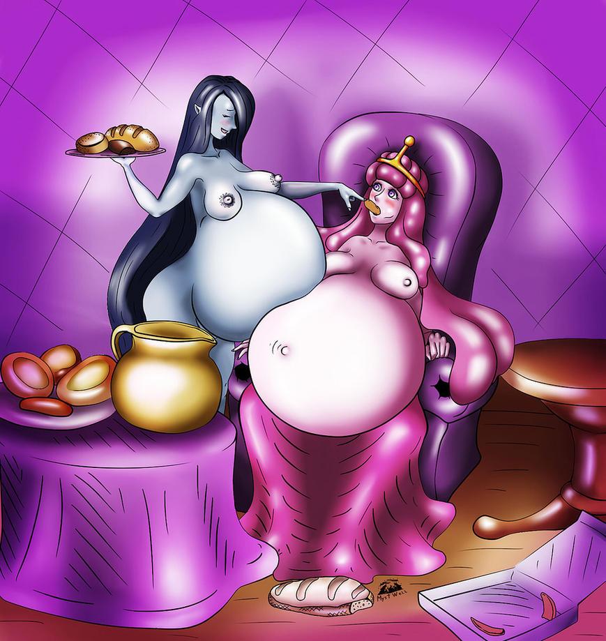 Arttrade! Marseline and Bubblegum by MystWell