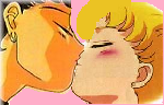 Seiya Usagi Kiss by Seiusa4ever