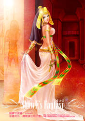 Egyptian Queen by Shawlis-Fantasy-Art