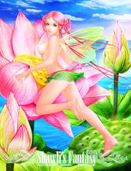 Lotus Fairy by shawli2007