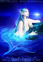 Siren Singing at Night by shawli2007