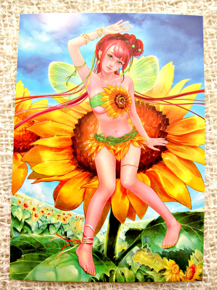 Sunflower Fairy by shawli2007
