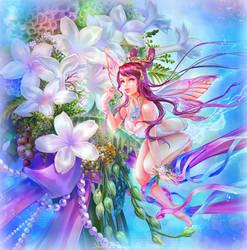 Stephanotis Flower Fairy