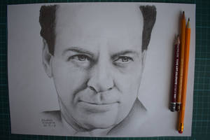 Richard Feynman by Krema-ART