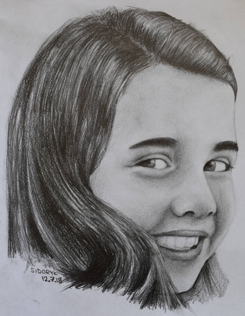 Samantha smith pencil drawing portrait by krema art on deviantart