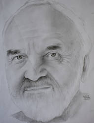 Zdenek Sverak, kresba portret, drawing portrait by Krema-ART