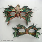 Leather Bird Masks