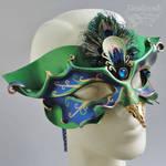 Venetian Peacock Mask