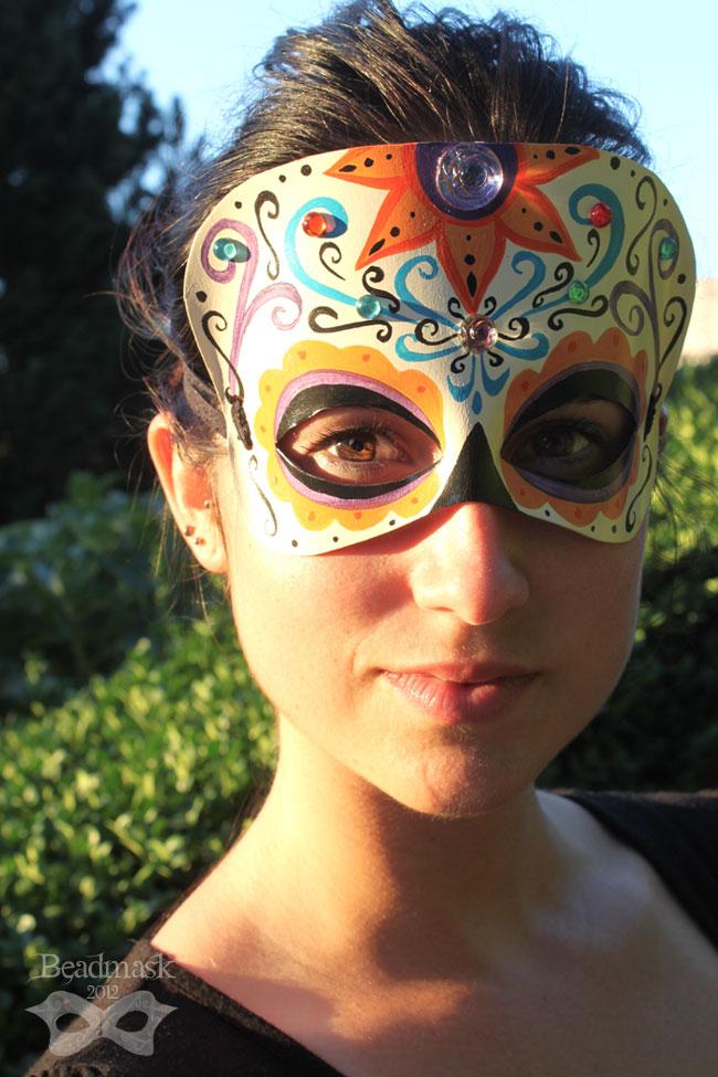Calavera Mask by Beadmask