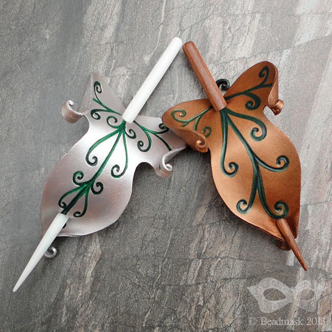 Elvish Leaves by Beadmask