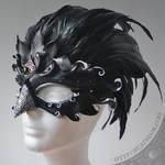 Raven Queen mask V2