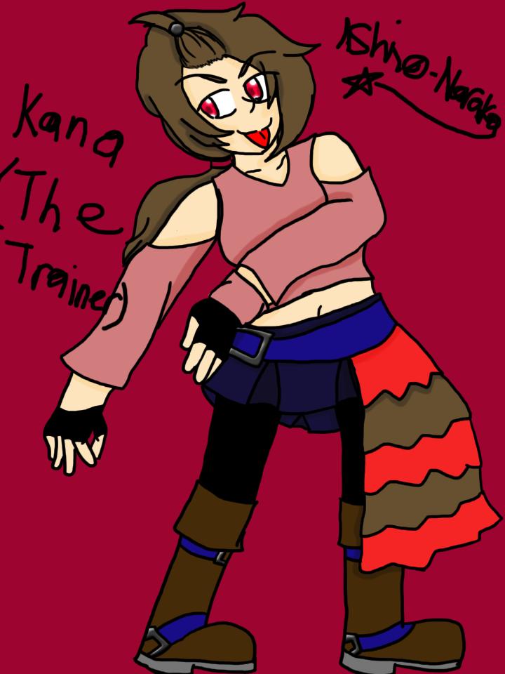 Kana Braus by Ashinonaraka