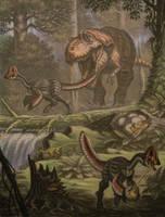 Albertosaurus, Chirostenotes.