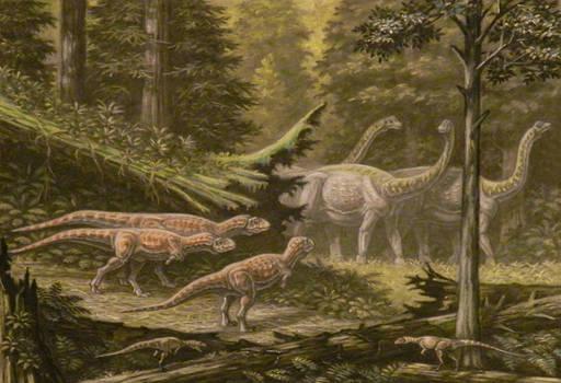 Quilmesaurus, Noasaurus.