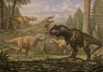 Carnotaurus, Abelisaurus.