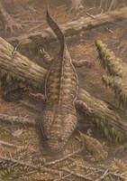 Metoposaurus.Gerrothorax by ABelov2014