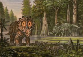 Regaliceratops peterhewsi by ABelov2014