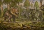 Utahceratops, Nasutoceratops, Kosmoceratops