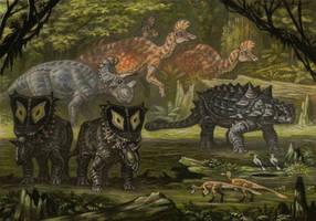 Campanian fauna by ABelov2014