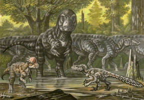 Tyrannosaurus rex ''Sue'' by ABelov2014
