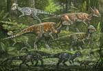 Pachycephalosauridae by ABelov2014