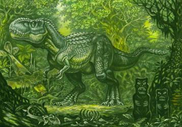 Vastatosaurus rex(king kong) by ABelov2014