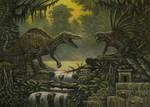 Avarusaurus. Gladiodon (king kong) by ABelov2014
