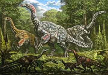 Therizinosauridae by ABelov2014